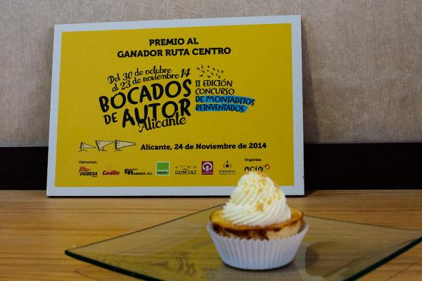Premio Ruta Centro - Bocados de Autor 2015
