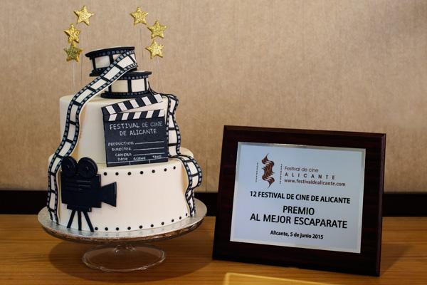 Premio al mejor escaparate - 12 Festival de Cine de Alicante