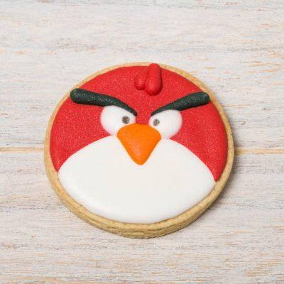 galleta decorada angry birds