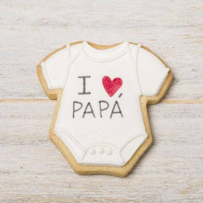 galleta decorada bodi bebe