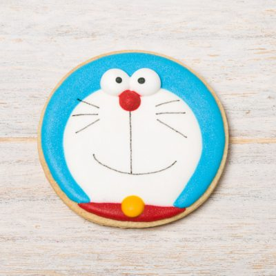 galleta decorada doraemon