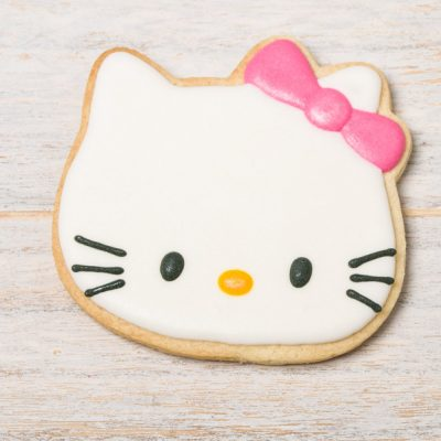 galleta decorada hello kitty