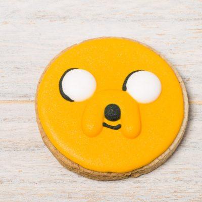 galleta decorada jake hora de aventuras