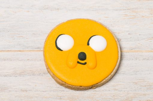 galleta decorada jake hora de aventuras