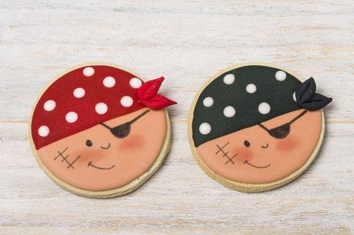 galleta decorada pirata