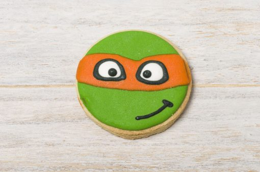 galleta decorada tortuga ninja