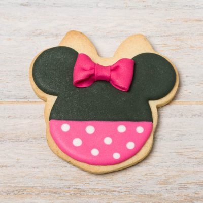 galleta decorada minnie mouse