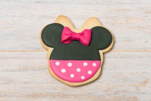 galleta decorada minnie mouse