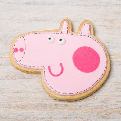 galleta decorada pepa pig