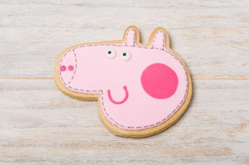 galleta decorada pepa pig