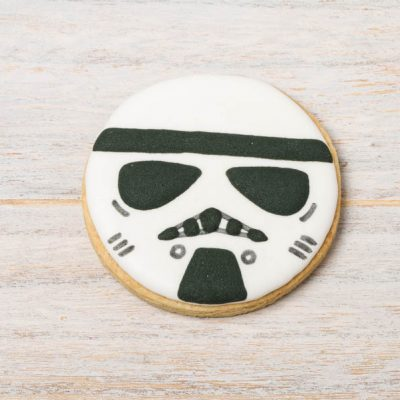 galleta decorada star wars tropa imperial