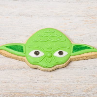 galleta decorada yoda star wars
