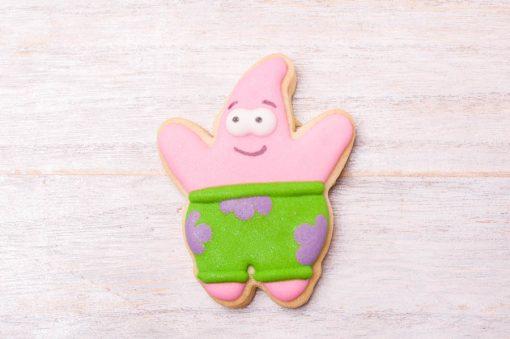 galleta decorada patricio bob esponja