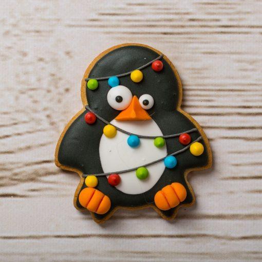 Galleta en forma de pingüino